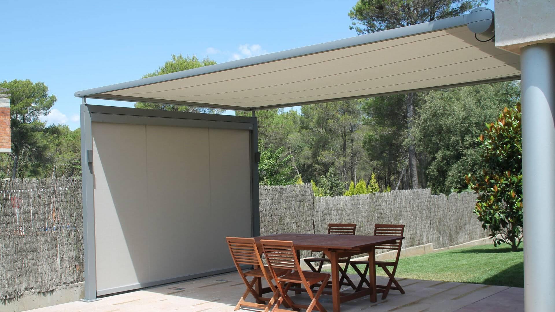 Markilux 620 toldo vertical terraza