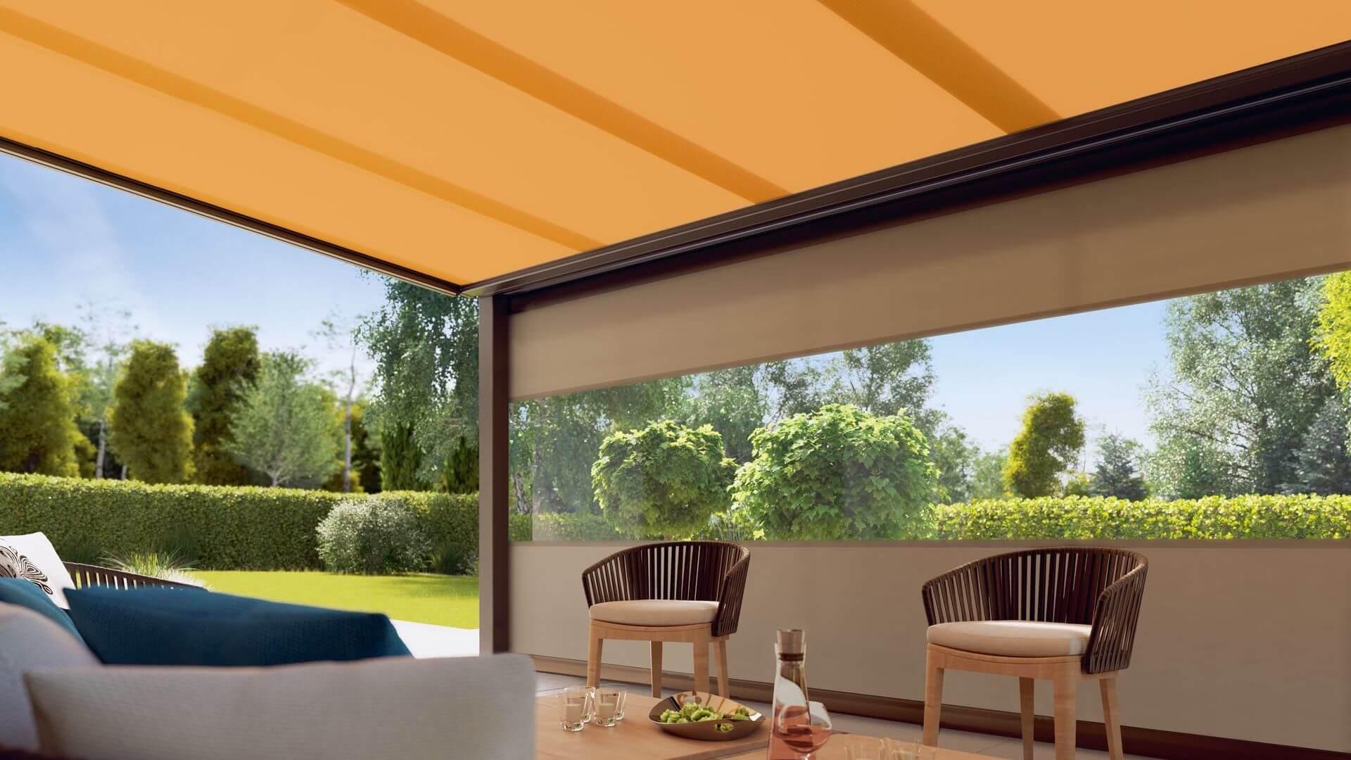 Markilux 879 terraza jardin