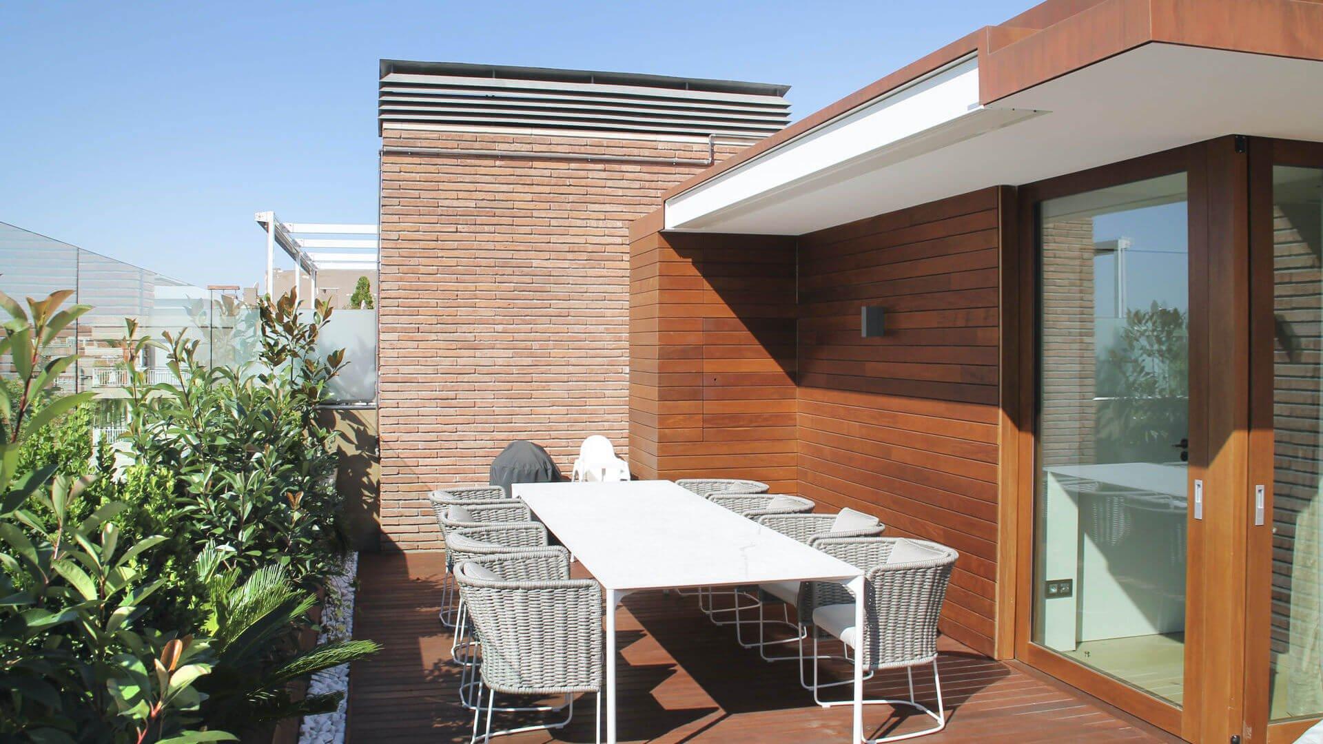 Markilux 3300 cerrado terraza